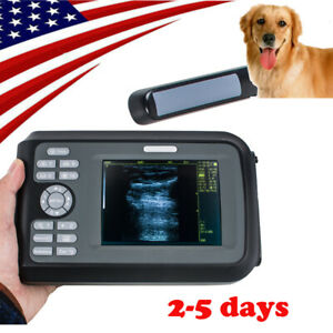 Handheld Vet Veterinary Ultrasound Scanner Machine Animal Rectal Transducer Case