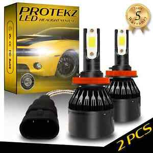Led Fog Light Kit Protekz 9006 6000k Cree For 2004 2005 Mazda Miata