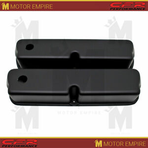 Fit 62 85 Ford Small Block 289 302 351w 5 0l Matte Black Tall Valve Covers