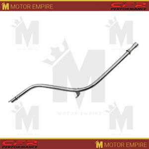 Steel Fits Chevy Gm Turbo Th 350 Transmission Dipstick 27 Billet Handle Chrome