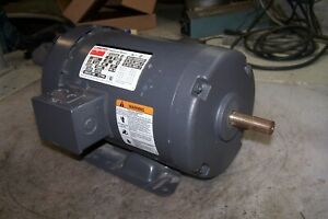 New Dayton 2 Hp Electric Ac Motor 208 230 460 Vac 1725 Rpm 56h Frame 3 Phase