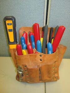 Klein Tools ideal Tools Electrician Tool Kit 13pc Kit With Klein 5165 Tool Bag