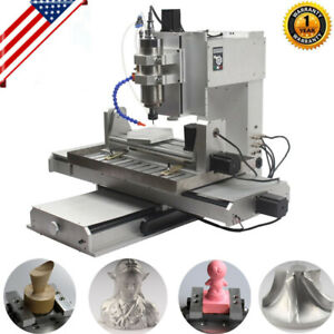 5 Axis 2200w 6040 Cnc Router 3d Engraver Usb Engraving Drilling Milling Machine