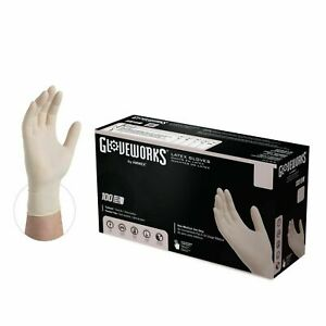 1000 Gloveworks Tlf Latex Disposable Gloves Powder Free non Nitrile Vinyl