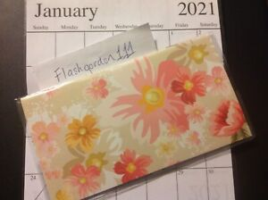 1 2021 2022 Pink Floral Two Year Planner Pocket Calendar 2 Year Datebook Gift