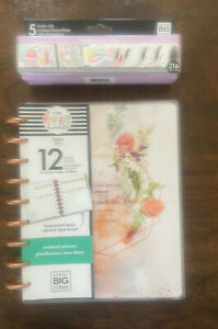 Classic Happy Planner Undated Faith Edition With 216 Faith Stickers Bundle Hbx6