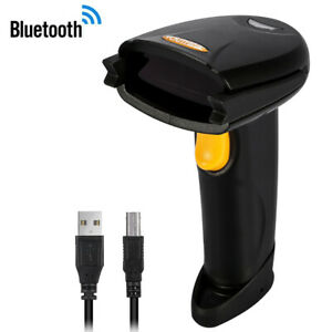 Wireless Bluetooth 4 0 Usb 3 0 Wired Barcode Scanner 1d Handheld Laser Bar Hot