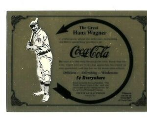 Honus Wagner Gold Card 000 PM Gold Card by Mitsubishi