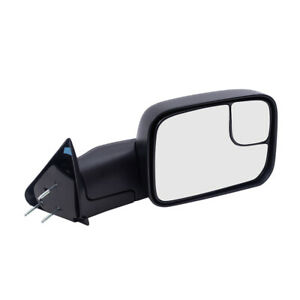 Passengers Manual Side Tow Mirror New Arm Design For 94 02 Dodge Pickup Truck
