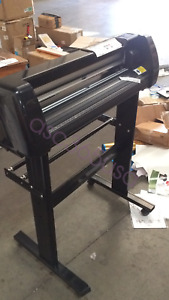 Used 24 500g Cutting Plotter Vinyl Cutter For Pu Vinyl Cutting Machine Stand