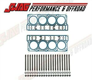 6 0l Powerstroke Diesel Vt365 Cylinder Head Studs With Oem Ford Head Gasket 18mm