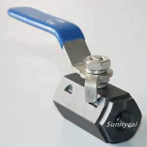 High Pressure Ball Valve Forged Steel A105 1 4 Npt Hydraulic Anti corrosion Us