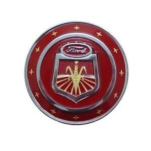 Hood Emblem Fits Ford Holland Naa Models 311231 311231 a 311231 red Naa16600c