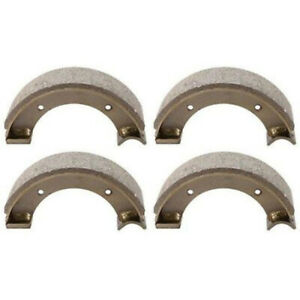 2 Pair Of Brake Shoes Fits Ford Holland 1300 1310 1500 1510 1710 Models 83921592