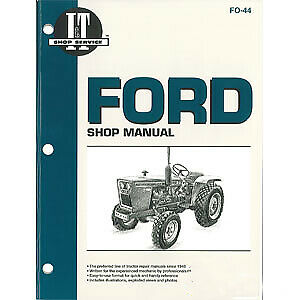 I t Shop Manual Fo 44 Fits Ford Holland Holland Nh 1100 1110 1200 1210 1300 13