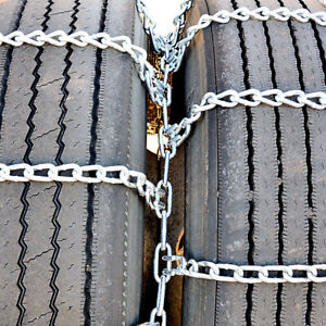 Titan Truck Tire Chains Dual triple On Road Snow ice 8 22 5