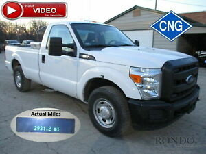 2013 Ford F250 2wd Cng Truck Selling For Parts Only 3306 Miles Video 2709
