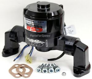 Csr 901nblk Small Block Chevy Black Electric Water Pump Sbc Usa Made in Stock