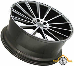 22 Rims For S Class Mercedes Staggered Wheels Concave