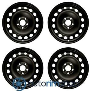 New 16 Replacement Wheels Rims For Ford Transit Connect 2013 2018 Set Black
