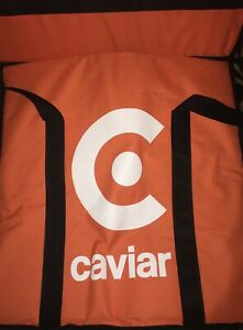 4 Caviar Pizza Delivery Bag Thermal Insulated 20 x 20 Nylon Holds 4 X 16 Pi