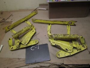 1970 1981 Camaro Trans Am Used Hood Hinge Hinges W Springs Ss Rs Firebird Fix