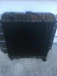 Original 1962 1963 1964 1965 Plymouth Fury Brass And Copper Radiator