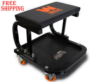 Rolling Seat Stool Chair Tray Repair Tools Shop Auto Car Garage Mechanic Creeper