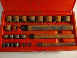 Snap on A157c 24 Pc Bushing Driver Set Complete In Case