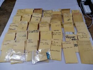Huge Lot Of 2sa Sony Toshiba Transistors List Included Large Variety
