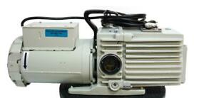 Leybold Trivac D16a Dual Stage Rotary Vane Vacuum Pump Working 7778 W