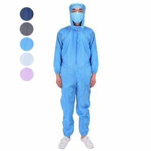 Coverall Overalls Hooded Workwear Jumpsuit Isolation Suit Protective Clothing