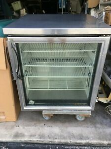 True Undercounter Refrigerator Tuc 27g Glass Front 6 5 Cu Ft
