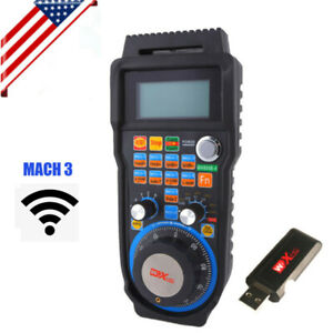 Usb Wireless Handwheel Electronic Controller For Mach3 Cnc 6 Axis Router System