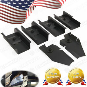 For 97 06 Jeep Wrangler Tj Body Mount Front Rear Middle Tub Repair Anti Rust New