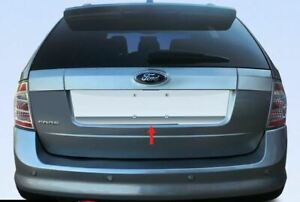 For 2007 2014 Ford Edge License Plate Trim Stainless Steel
