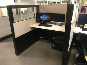 Herman Miller 4 x4 Call Center Office Cubicles Workstations