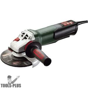 Metabo 600488420 6 Angle Grinder W Non locking Paddle Switch 13 5 Amps New