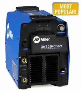 Miller Electric 907161 Multiprocess Welder Xmt r 350 Series 208 To 575vac