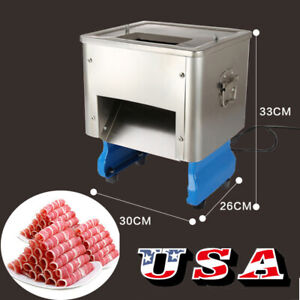 Commercial Meat Shred Cutter Machine Food Meat Cutting Slicer Kitchen Equipment