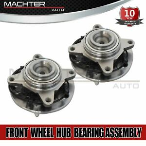 Front Pair Wheel Hub Bearing Assembly Fits 03 06 Ford Expedition Lincoln 515042