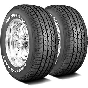 2 New Mastercraft Avenger G t 235 60r14 96t A s All Season Tires