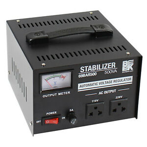 500va Watt Automatic Voltage Stabilizer Regulator 500w 110vac 220vac 69bar500