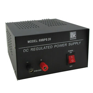 12 Volts Heavy Duty Dc Regulated Power Supply 20 22 Amp Surge 69bps20