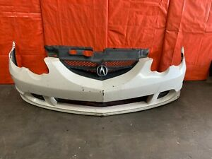 Oem 2002 2004 Acura Rsx Front Bumper Cover White Includes Grille