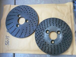5678 Machinists Indexing Plates Dividing Bridgeport Rotary Table