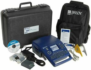 Brady Bmp71 Label Printer With Soft Case Quick Charger And Usb Connectivity