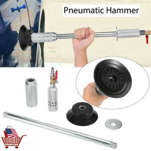 Air Pneumatic Dent Puller Repair Suction Car Auto Body Cup Slide Tool Hammer Set