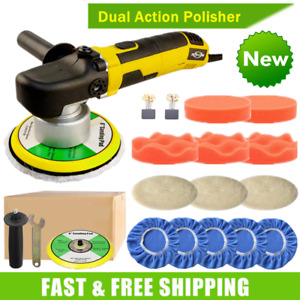 6 Dual Action Car Polisher Buffer Sander Orbital Auto Polishing Machine Kit Us
