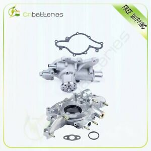 Engine Water Oil Pump For 1994 1995 Ford Mustang Gt Svt 5 0l V8 Ohv Aw4087 M68